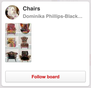 "Dominika's Pinterst Board ""Chairs"""