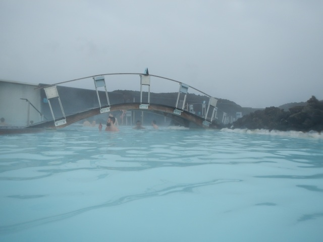 Bridge at the Blue Lagoon