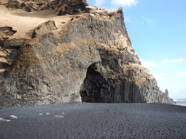 Black Sands beach cave
